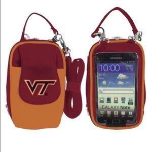 NCAA Virginia Tech Hokies PursePlus XL Touchscreen